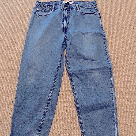 Levi Red Tag Retro Light Wash Jeans Size 36/30